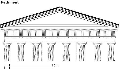greek architecture coloring pages - photo#21